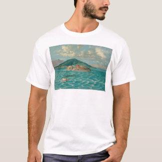 Alcatraz in San Francisco Bay (1856A) T-Shirt