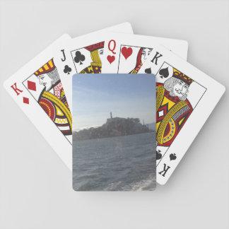 Alcatraz Insel-klassische Spielkarten