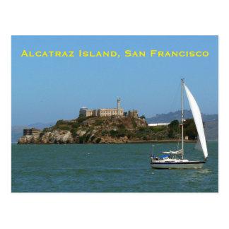 Alcatraz Insel San Francisco Postkarte