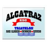 Alcatraz Triathlon Postkarte