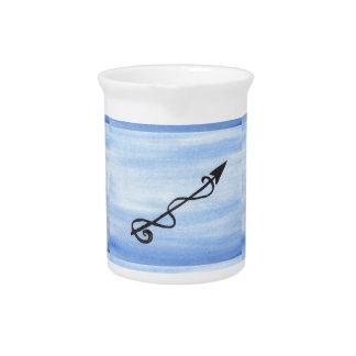 Alchemical Symbol: Reinigen Sie Getränke Pitcher