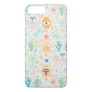 Alchimie Hamsa Muster-Fall iPhone 8 Plus/7 Plus Hülle