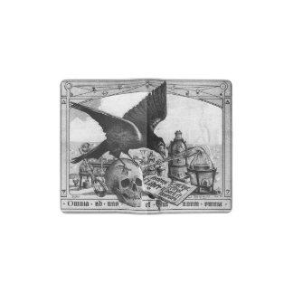 Alchimie-Laborraben-und -menschen-Schädel Moleskine Taschennotizbuch
