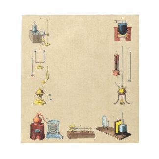 Alchimie-Laborwerkzeuge für die große Arbeit Notizblock