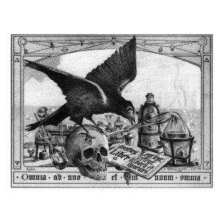 Alchimie-Labrador-Postkarte Postkarte