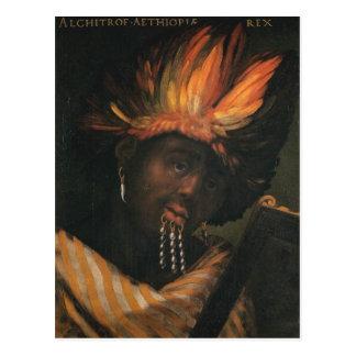 Alchitrof, Kaiser von Äthiopien-Postkarte Postkarte