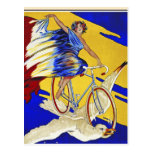 Alcyon Zyklen - Vintage Fahrrad-Kunst Postkarten