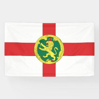 Alderney Flagge Banner