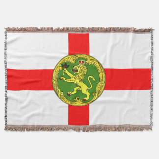 Alderney Flagge Guernsey-Symbol Briten Decke
