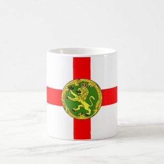 Alderney Flagge Guernsey-Symbol Briten Kaffeetasse