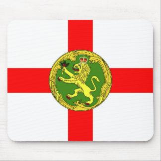 Alderney Flagge Guernsey-Symbol Briten Mousepad