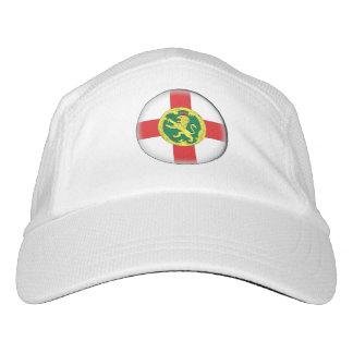 Alderney Flagge Headsweats Kappe