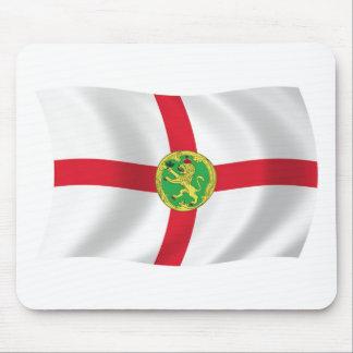 Alderney Flagge Mousepad