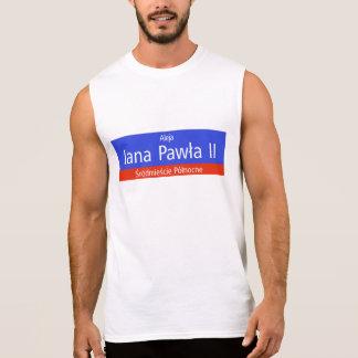 Aleja Jana Pawla II, Warschau, polnischer Ärmelloses Shirt