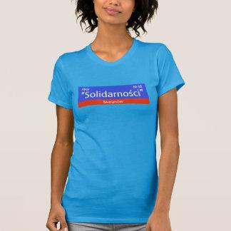 """Aleja """"Solidarnosci"""", Warschau, polnischer T-Shirt"""