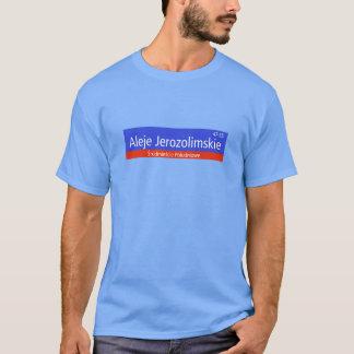 Aleje Jerozolimskie, Warschau, polnischer T-Shirt