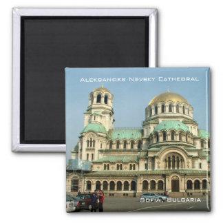 Aleksander Nevsky Kathedrale Quadratischer Magnet