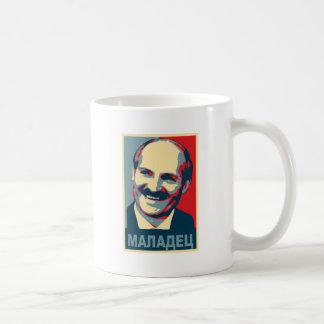 Aleksandr Lukashenko maladec Kaffeetasse