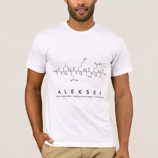 Aleksei Peptid-Namen-Shirt T-Shirt