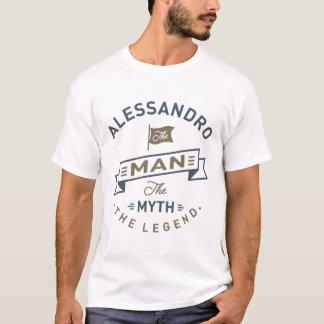 Alessandro der Mann T-Shirt