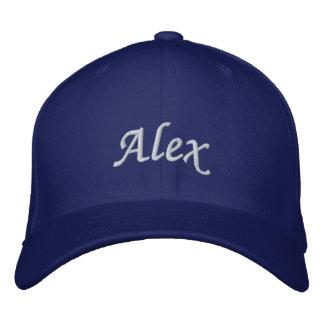 Alex Bestickte Kappe