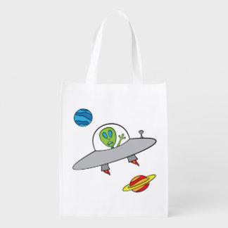 Alex das alien - wiederverwendbare Tasche Wiederverwendbare Einkaufstasche