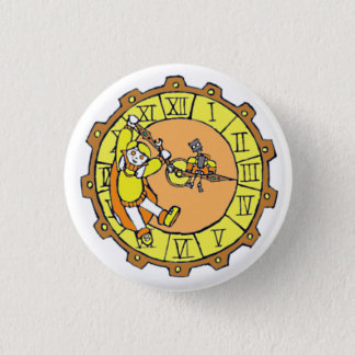 Alex-Knopf Runder Button 2,5 Cm
