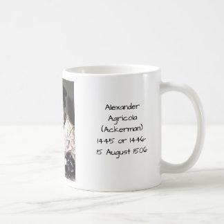 Alexander Agricola (Ackerman) Kaffeetasse