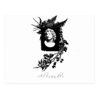 Alexander das große postkarte