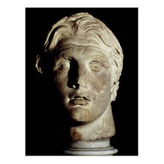 Alexander der Große, fand in Pergamum Postkarte