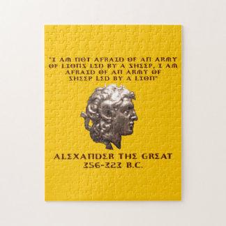 Alexander der Große Puzzle