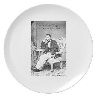 Alexander Dreyschock Melaminteller