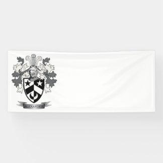 Alexander-Familienwappen-Wappen Banner