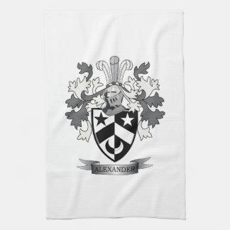 Alexander-Familienwappen-Wappen Handtuch