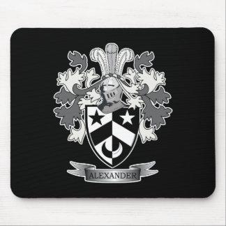 Alexander-Familienwappen-Wappen Mousepad