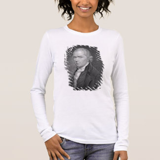 Alexander Hamilton (1757-1804) graviert von John Langarm T-Shirt