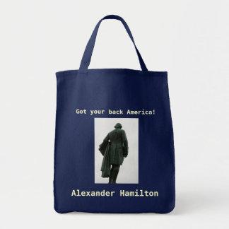 Alexander Hamilton-Einkaufstüte Tragetasche