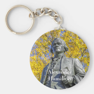 Alexander Hamilton-Statue Schlüsselanhänger