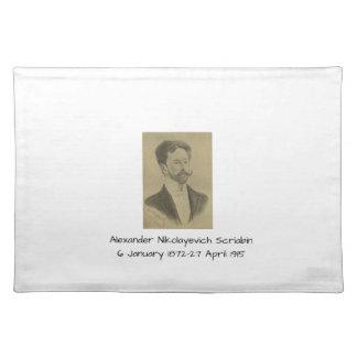 Alexander Nikolayevich Scriabin Tischset