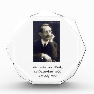 Alexander von Fielitz Acryl Auszeichnung