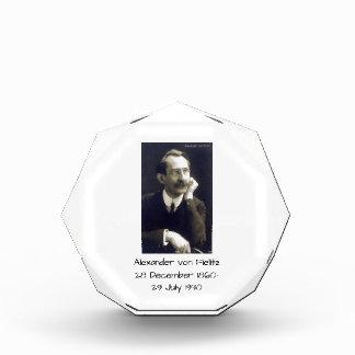 Alexander von Fielitz Auszeichnung