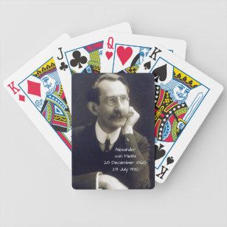 Alexander von Fielitz Bicycle Spielkarten