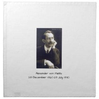 Alexander von Fielitz Stoffserviette