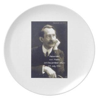 Alexander von Fielitz Teller