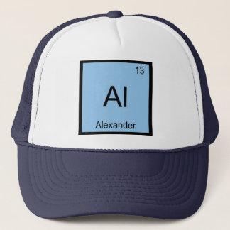 Alexandernamenschemie-Element-Periodensystem Truckerkappe