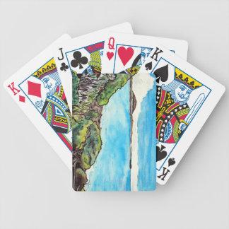 Alexandra-Landspitze, Mt Coolum u. Mudjimba Bicycle Spielkarten