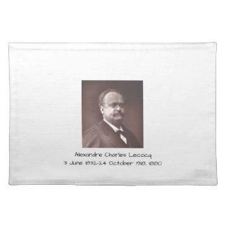Alexandre Charles lecocq 1880 Stofftischset