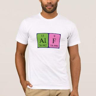 Alf Namen-Shirt periodischer Tabelle T-Shirt