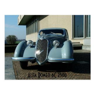 Alfa Romeo 6C 2300 Postkarte