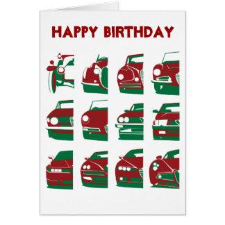 Alfa Romeo - Geburtstags-Karte Karte
